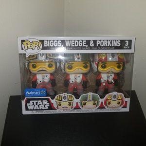 Funko Pop Star Wars Wedge, Biggs Porkins